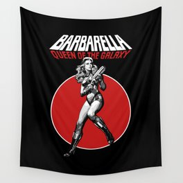 Barbarella - Queen of the Galaxy Wall Tapestry