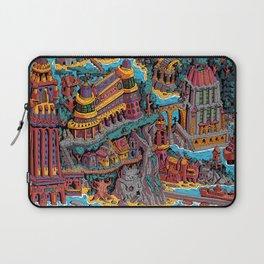 Mumbo Jumbo City (Color) Laptop Sleeve