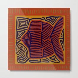 Here Fishy, Fishy Metal Print