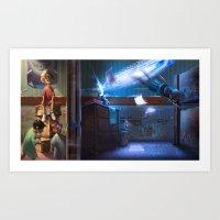 The Portal Art Print