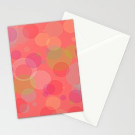 Bubblegum Bokeh Stationery Cards
