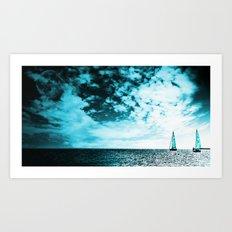 Turquoise Dreams II Art Print
