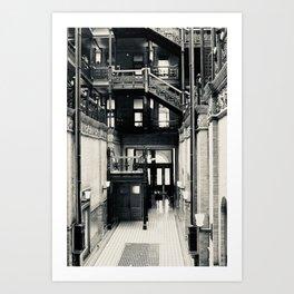 bradbury building - dtla Art Print