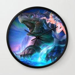 Four Symbols-Black Tortoise Wall Clock