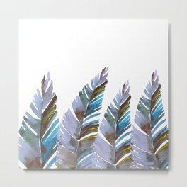 Areca Palm vintage Metal Print
