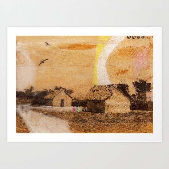 """each village"" Art Print"
