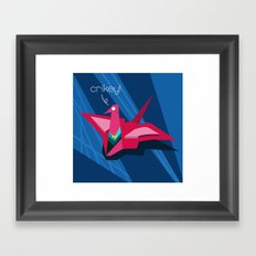 Crikey! Framed Art Print