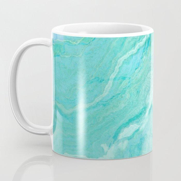 Azure marble Coffee Mug