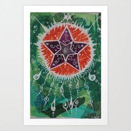 New Stars Art Print
