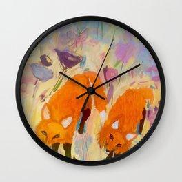 Frankie and Johnnie Wall Clock