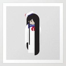 Samara / Stay Puft Art Print