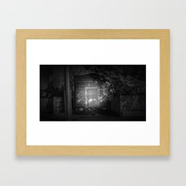 The Christchurch Electricity Substation Project XV Framed Art Print