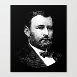 President Ulysses S. Grant Canvas Print