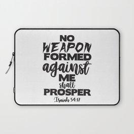 Isaiah 54:17 Laptop Sleeve