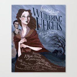 Wuthering Heights poster Canvas Print