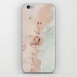 beach - pink champagne iPhone Skin