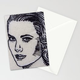 Old Hollywood Portrait #1 Stationery Cards