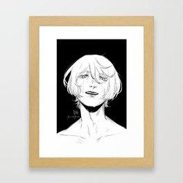 Alois Trancy: I wished for... Framed Art Print