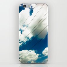 Lines and The Blue Sky iPhone & iPod Skin