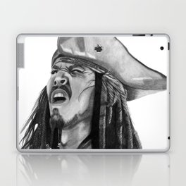 Jack Sparrow - I Wash My Hands Of This Weirdness Laptop & iPad Skin