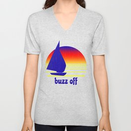 Buzz Off Unisex V-Neck