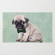 Angry Pug Rug