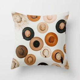 Baja Hat Wall Throw Pillow