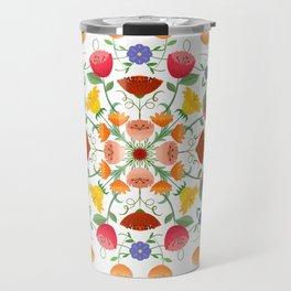 A Symphony Of Floral Delights Travel Mug