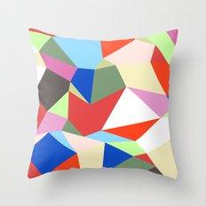 Geomesh 01 Throw Pillow