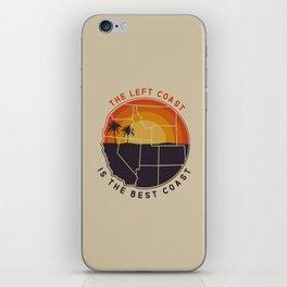 Left Coast is the Best Coast iPhone Skin