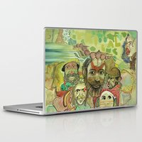 guinea pig Laptop & iPad Skins featuring guinea by PA'LANE