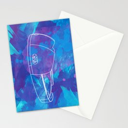 Virtual reality glasses Stationery Cards