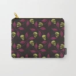 PSYCHOBILLY CHERRY SKULL Carry-All Pouch