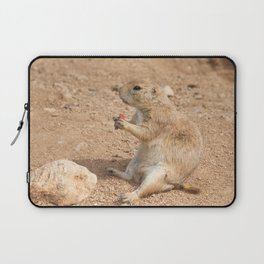 Prairie Dog Snack Time Laptop Sleeve