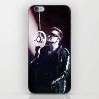 u2 iPhone & iPod Skins featuring U2 / Bono 4 by JR van Kampen