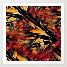 Jungle Trip (sunglow) Art Print