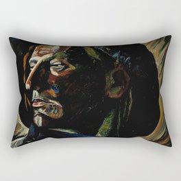Haava - Wound by Vilho Lampi - Finnish Expressionism - Fine Art Oil Rectangular Pillow