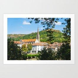 Saint-Antonin-Noble-Val Art Print