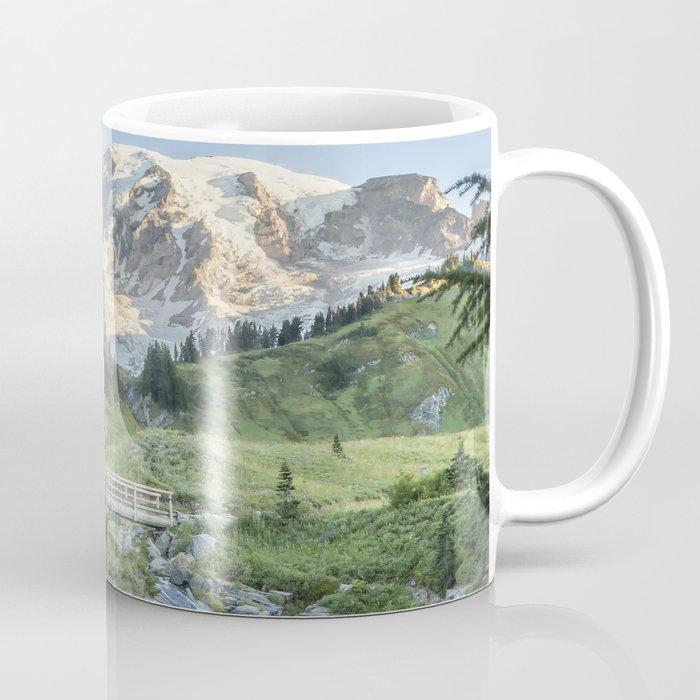 Early Morning at Myrtle Falls Coffee Mug