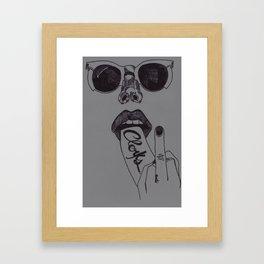 CLERKS Framed Art Print