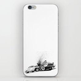 CRASH iPhone Skin