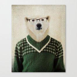 Spencer Bear Canvas Print