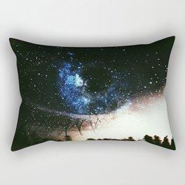 Blue Eyes Night Skies Rectangular Pillow