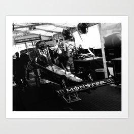 The Lair Art Print
