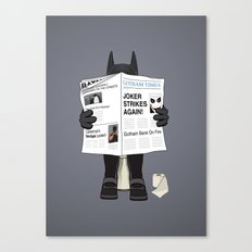 A Bat Sunday Canvas Print
