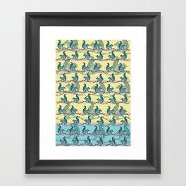 Squirrels! Framed Art Print