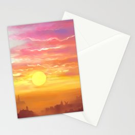 Under the sun Stationery Cards
