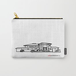Robie House - Frank Lloyd Wright Carry-All Pouch