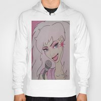 jem Hoodies featuring Jem and the Holograms  by DustyRoseArt