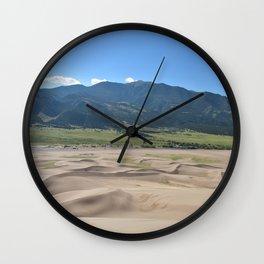 Great Sand Dunes Wall Clock